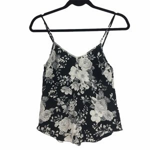 Wilfred Floral Silk Camisole Size XXS